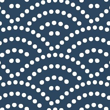 Japanese Seigaiha Seamless Wave Pattern by ernstc
