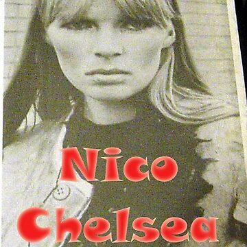 Nico, Chelsea Girl, Velvet Underground, Warhol, Andy Warhol by Vintaged