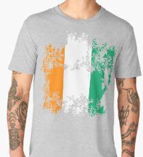 Cote d'Ivoire Elfenbeinküste flag graphic really cool design Men's Premium T-Shirt