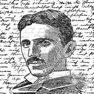 Nikola Tesla by ValentinaHramov