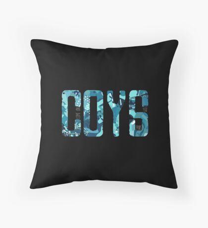 COYS * Blue Camo Edition Throw Pillow