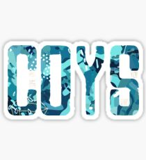 COYS * Blue Camo Edition Sticker