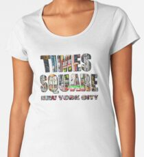 Times Square II Special Edition II Premium Scoop T-Shirt