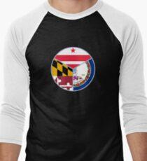 DMV Men's Baseball ¾ T-Shirt