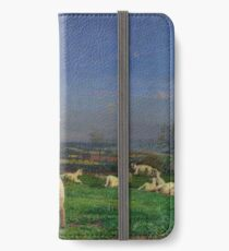 Pretty Baa-Lambs - Ford Madox Brown iPhone Wallet/Case/Skin