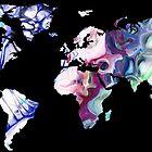 pastel map world map by jsebouvi