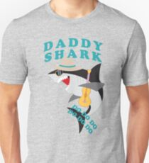 Who Loves Daddy Shark Unisex T-Shirt