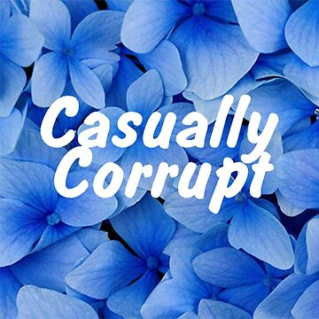 Casually Corrupt Blue Flowers by CasuallyCorrupt