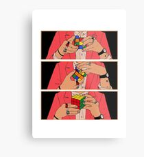 Harry Styles - Rubik's cube Metal Print