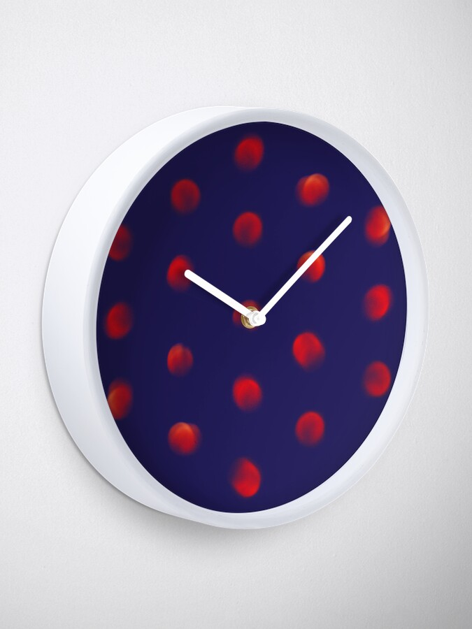 Alternate view of Total eclipse of the polka dot Clock