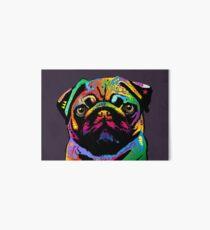 Pug Dog Art Board