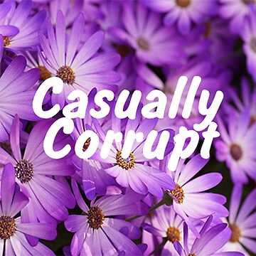 Casually Corrupt Purple Flowers by CasuallyCorrupt