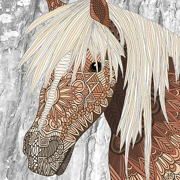 Haflinger Horse by artlovepassion