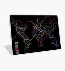 World Metro Map Laptop Skin