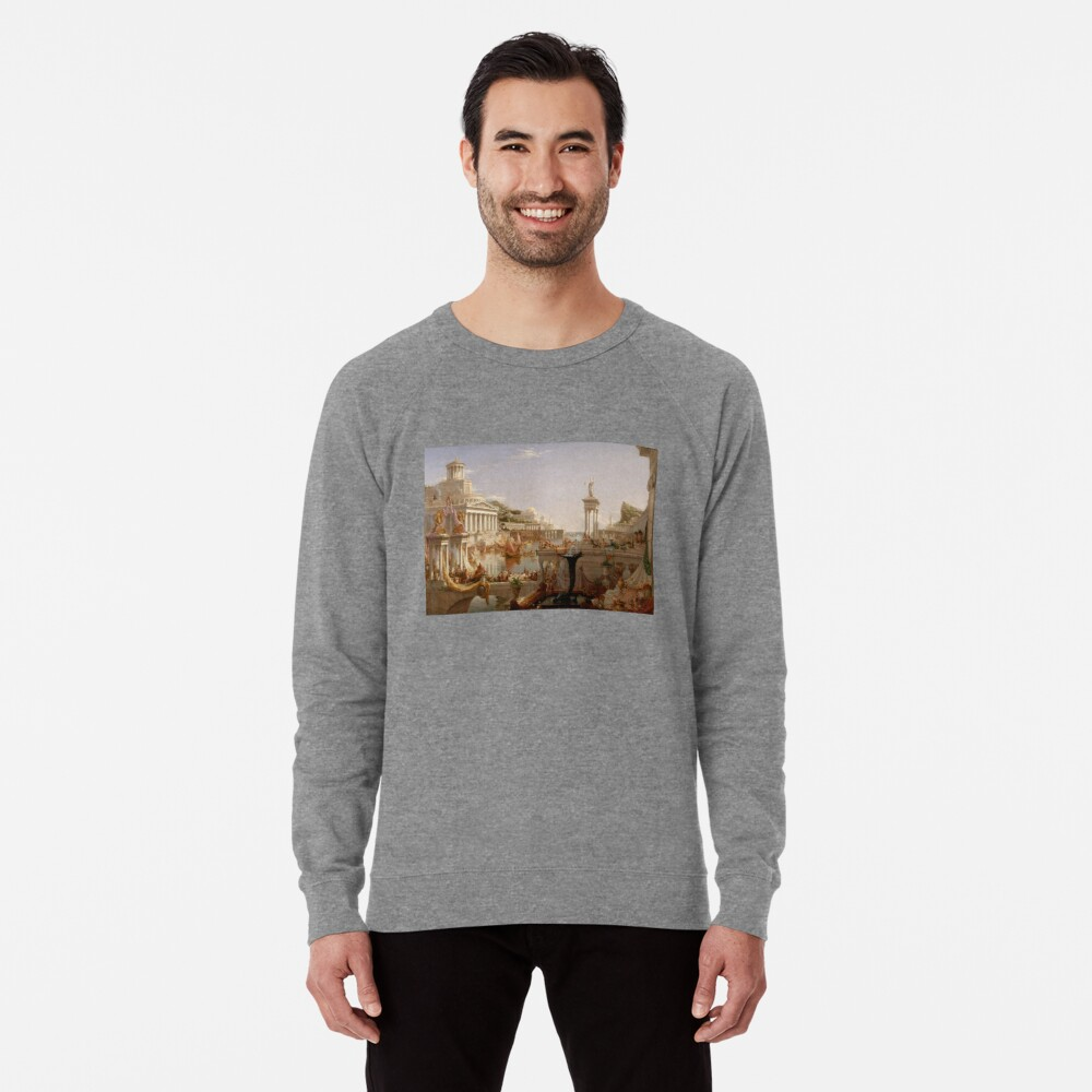 The Consummation of Empire - Thomas Cole Lightweight Sweatshirt