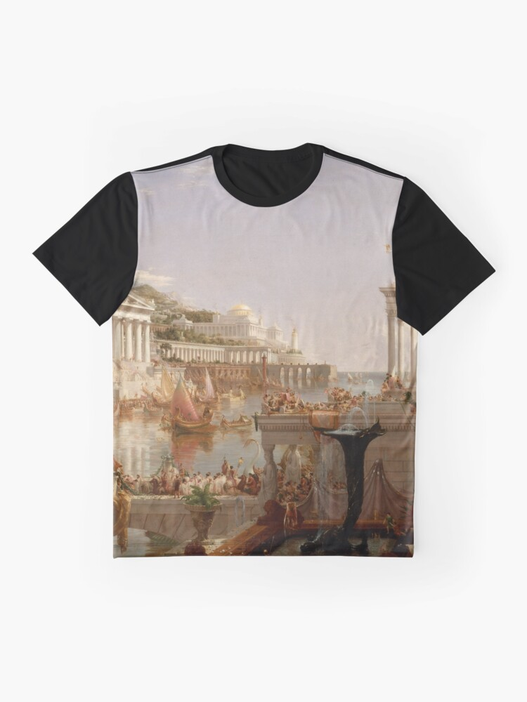 Alternate view of The Consummation of Empire - Thomas Cole Graphic T-Shirt
