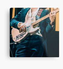 Harry Styles guitar concert Metal Print