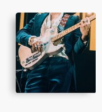 Harry Styles guitar concert Canvas Print