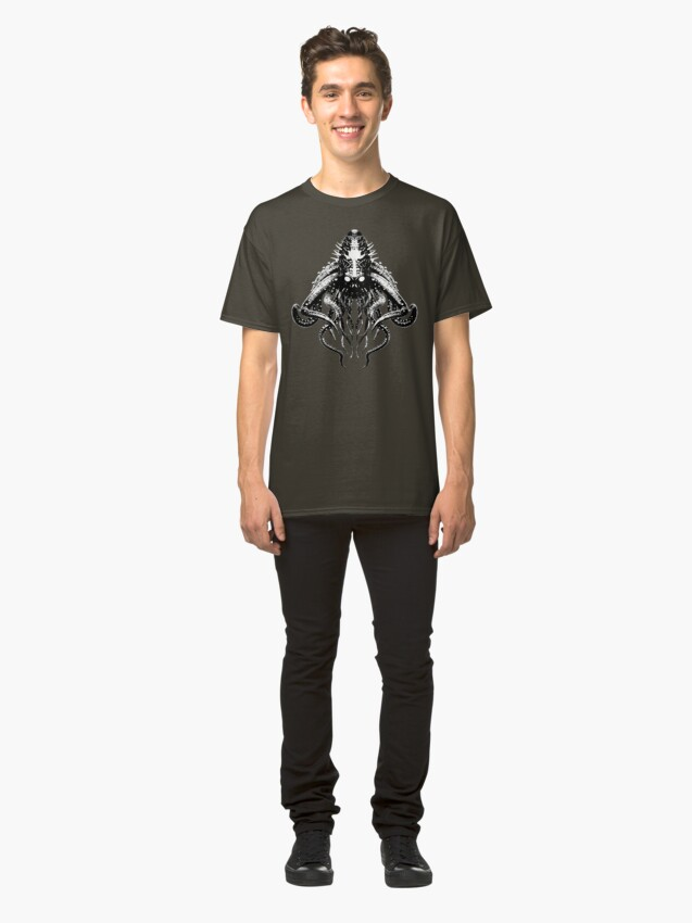 Alternate view of Cthulhu High Contrast Classic T-Shirt