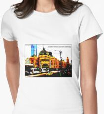 Flinders St Station Comicography T-Shirt
