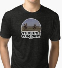 Three's Company  Tri-blend T-Shirt