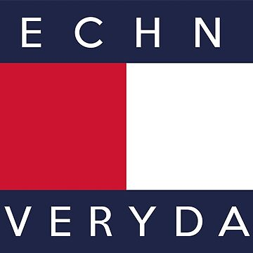 Techno everyday by flipfloptees