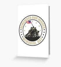 Remember Our Heroes - Memorial Day Greeting Card