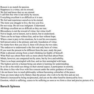 Baruch Spinoza Quotes by qqqueiru