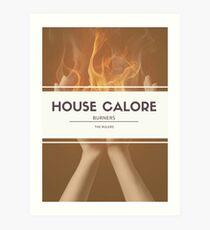 House Calore Art Print