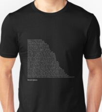 Baruch Spinoza Quotes Unisex T-Shirt