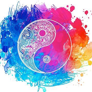 Yin and yang  by varka
