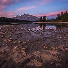 Sunrise at Two Jacks Lake, Canada by mattmacpherson