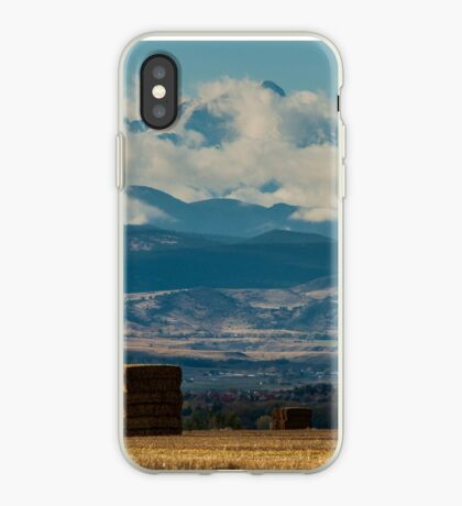 Longs Peak Above The Clouds iPhone Case