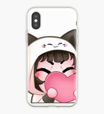 HUG Emote (Choco-Berri) iPhone Case