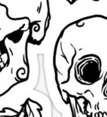 Bones and Leaves Sticker