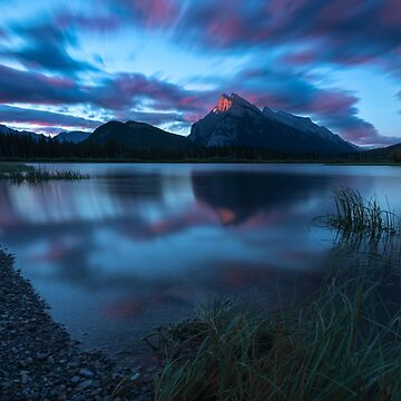 Sunrise at Vermilion Lakes, Canada by mattmacpherson