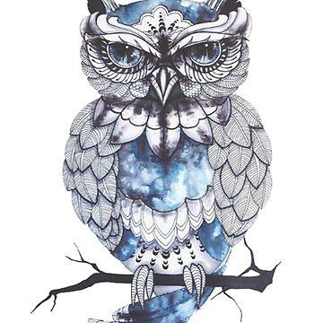 owl wisdom by fantastic23