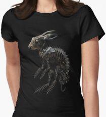 BIO-MECHANISCHE ZOMBUNNIE Tailliertes T-Shirt für Frauen
