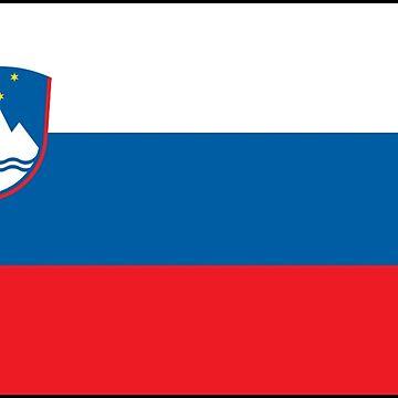 Slovenia - National Flag - Current by CrankyOldDude