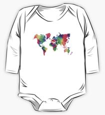 World Map One Piece - Long Sleeve
