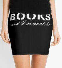 I LIKE BIG BOOKS Mini Skirt