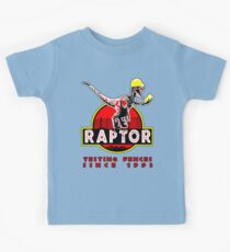 Raptor. In light and stickers since 1993. Kids Tee
