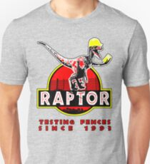 Raptor. In light and stickers since 1993. Unisex T-Shirt