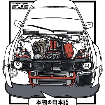 True Japanese (2JZ Bimmer) by SprayPatrick