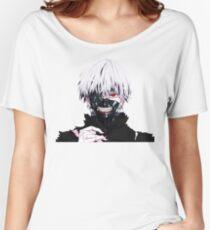Camiseta ancha para mujer ken kaneki tokyo ghoul