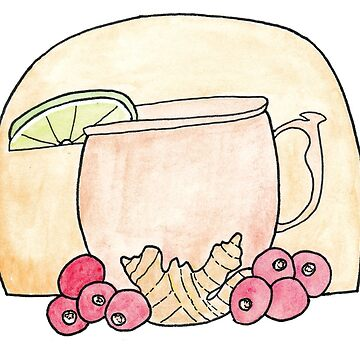 Cranberry Moscow Mule by chaoticginger