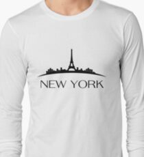 Paris - New York Long Sleeve T-Shirt