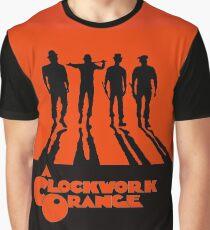 Camiseta gráfica Una naranja mecánica en naranja