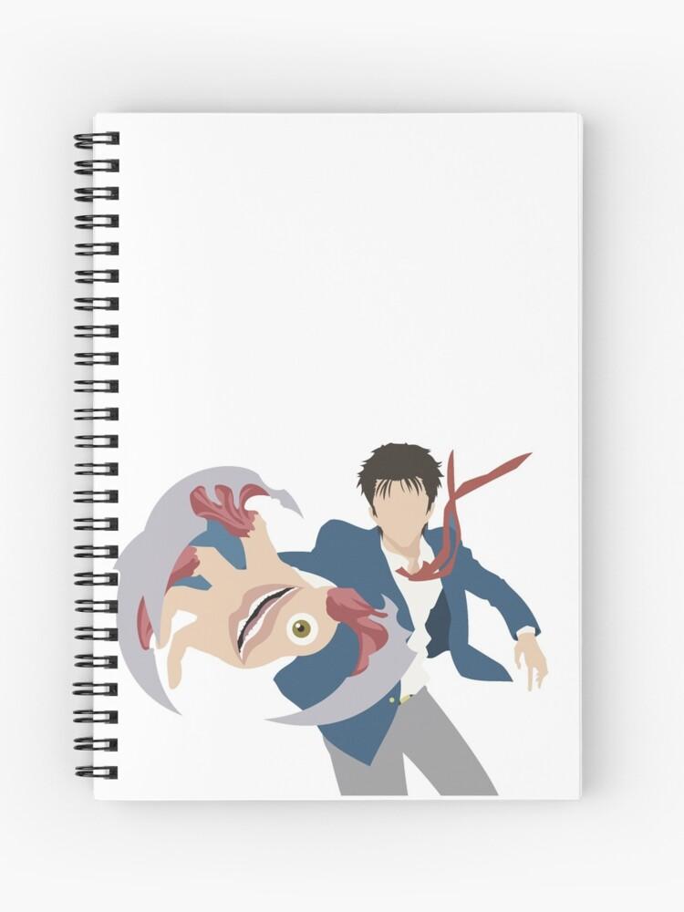 shinishi migi parasite kiseijuu | Spiral Notebook