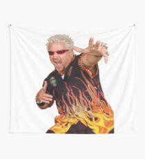 fire man Wall Tapestry
